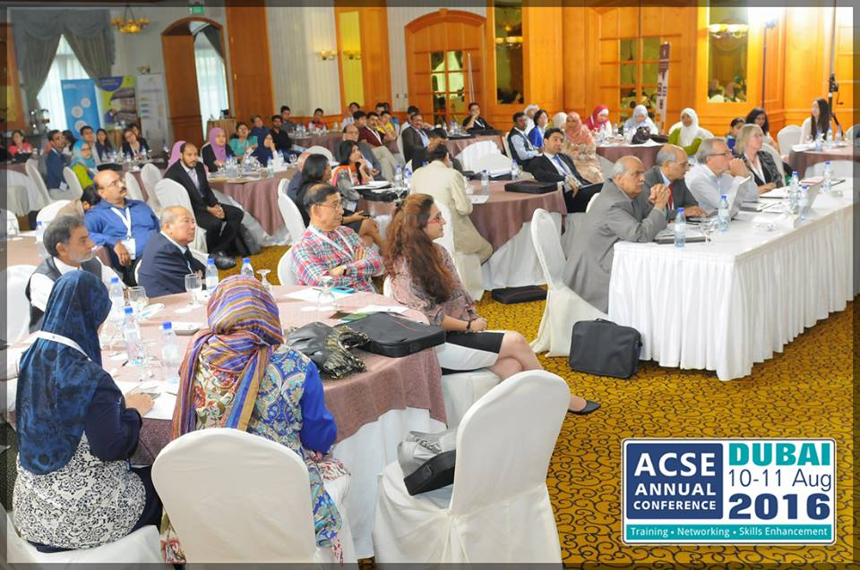 ACSE 2016 attendees