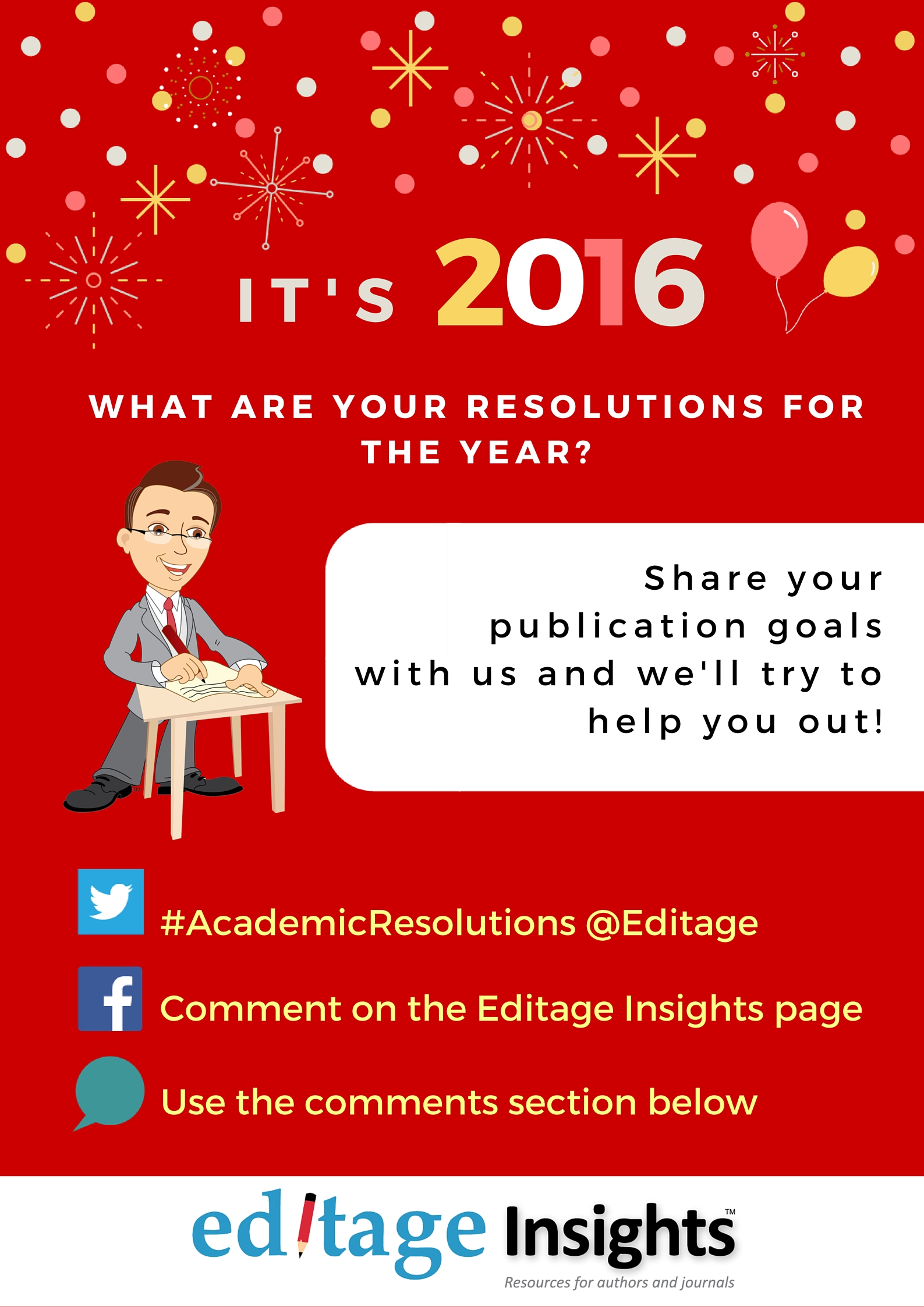 Academic resolutions for 2016
