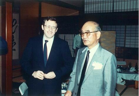 Dr. Patrick J. Barron, Dr. Yoshihiro Hayata, lung surgeon, first living lung transplantation