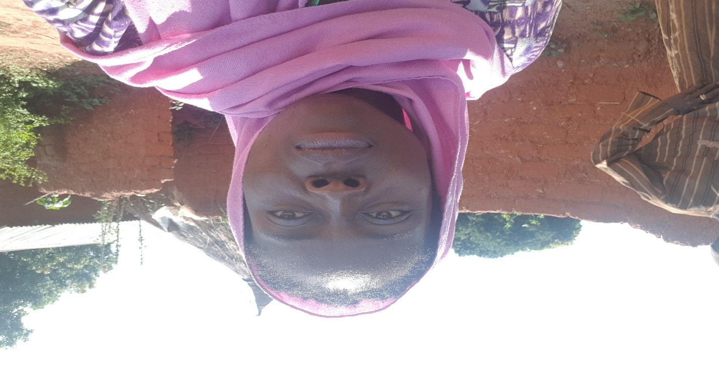Me on a hot sunny afternoon after conducting interviews with women in a remote village in Niger state