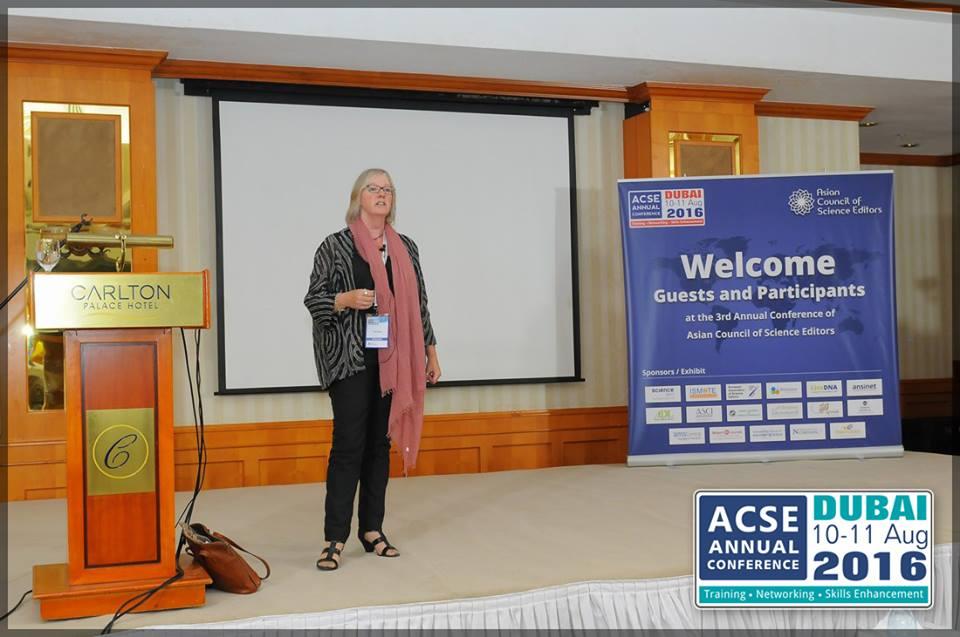 Pippa Smart at ACSE 2016