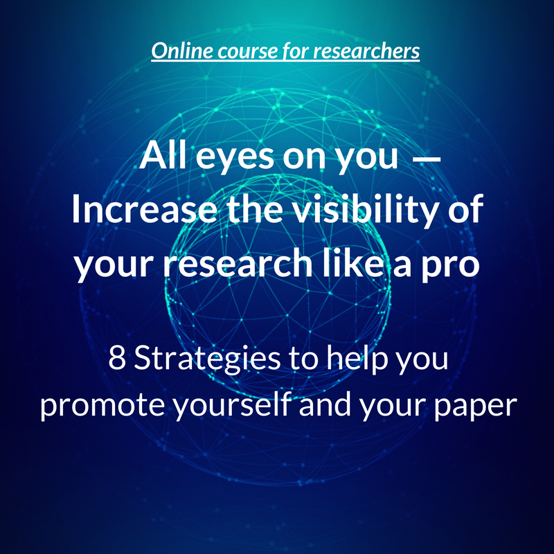Learning course on research promotion