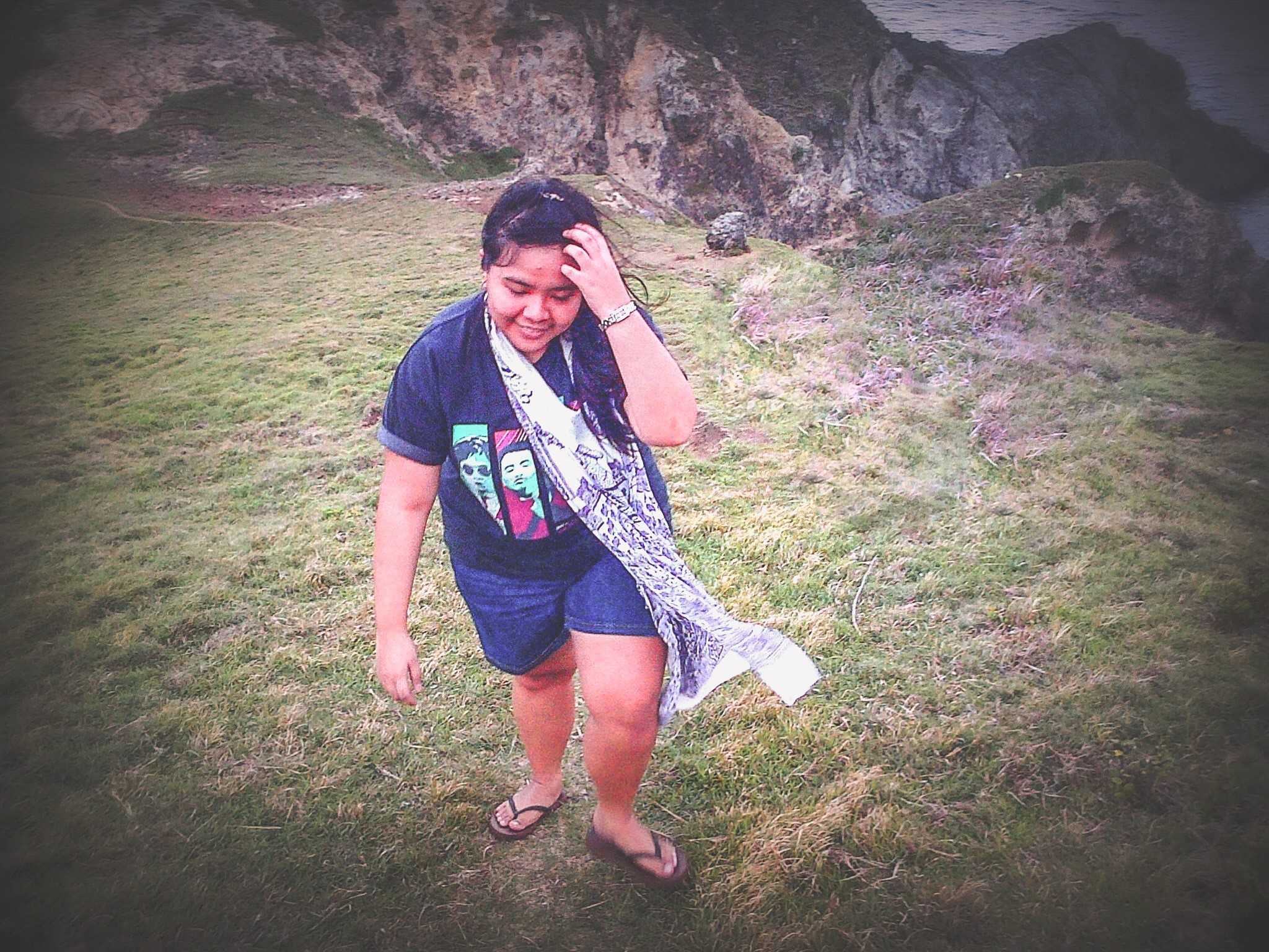 Gave my camera to one of the kids in Batanes and he captured this photo of me (2013)