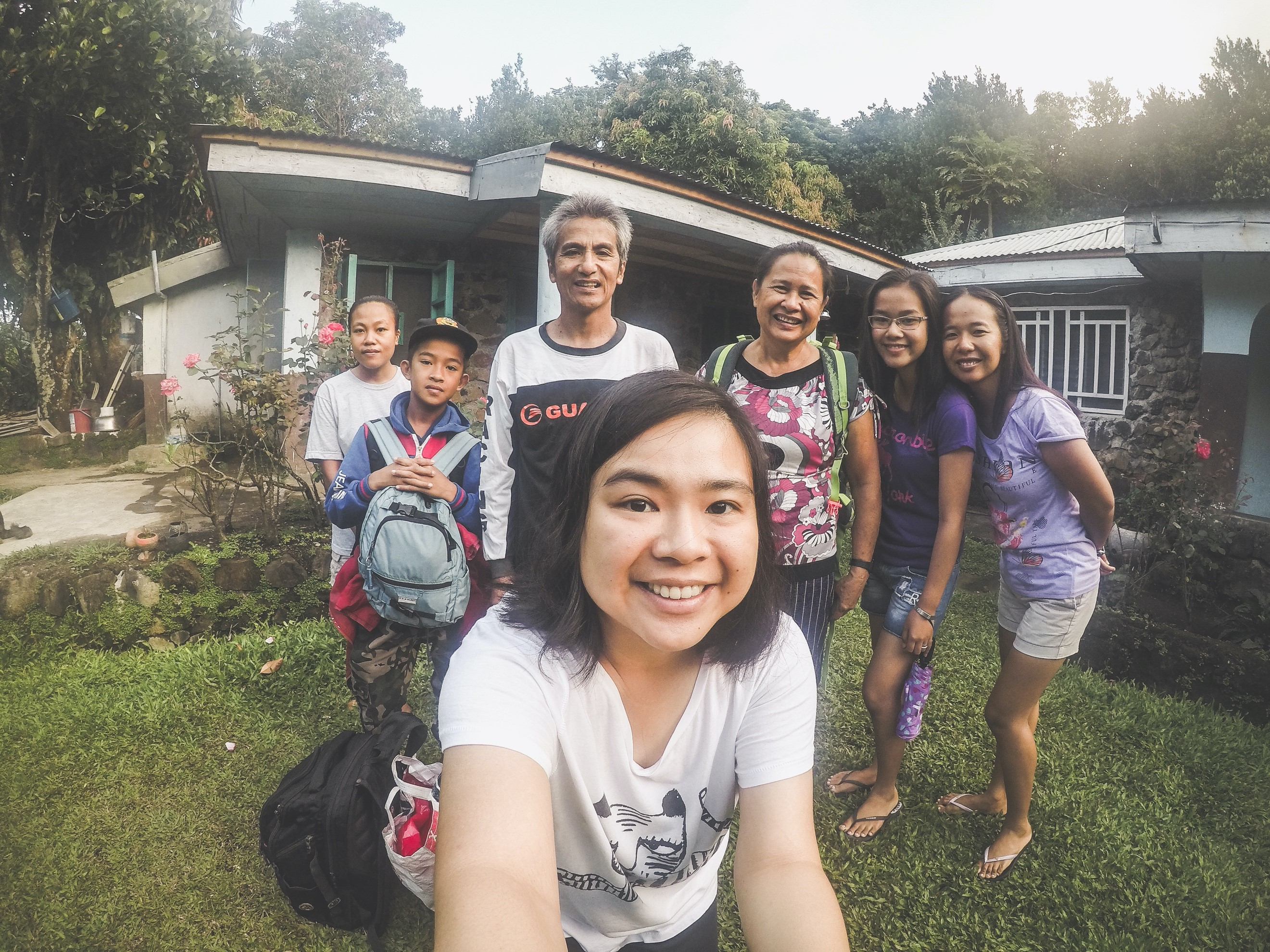 My host family on Babuyan Claro (2018)